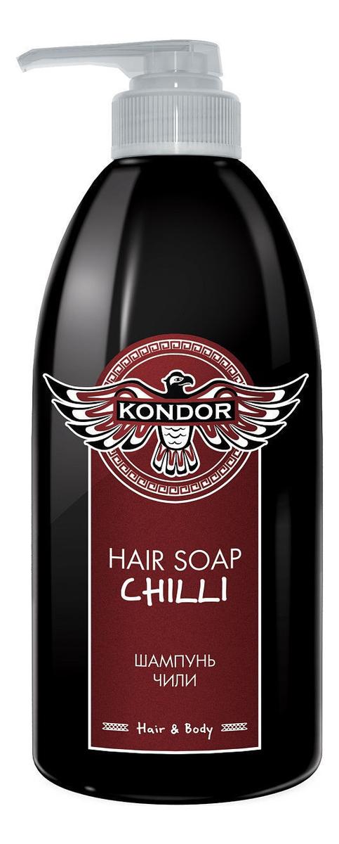 Купить Шампунь для волос Hair Soap Chilli (чили): Шампунь 750мл, KONDOR