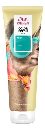 Купить Оттеночная кремовая маска для волос Color Fresh 150мл: Mint, Wella