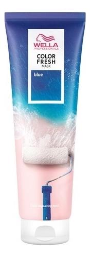 Купить Оттеночная кремовая маска для волос Color Fresh 150мл: Blue, Wella