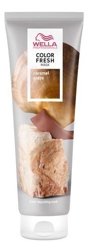 Купить Оттеночная кремовая маска для волос Color Fresh 150мл: Caramel Glaze, Wella