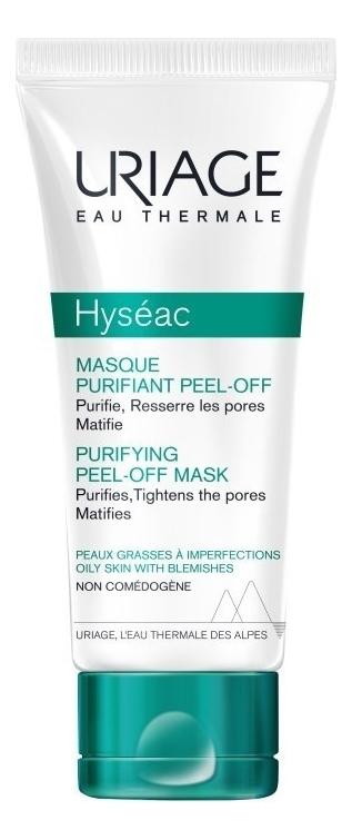 Очищающая маска-пленка для лица Masque Purifiant Peel-Off Hyseac 50мл недорого