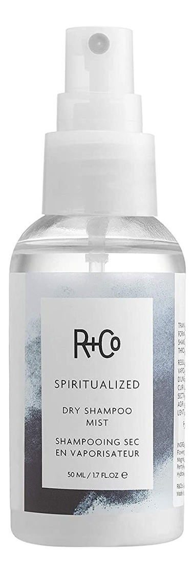 Сухой шампунь-спрей для волос Spiritualized Dry Shampoo Mist: Шампунь-спрей 50мл greentech environmental h mist водородный спрей