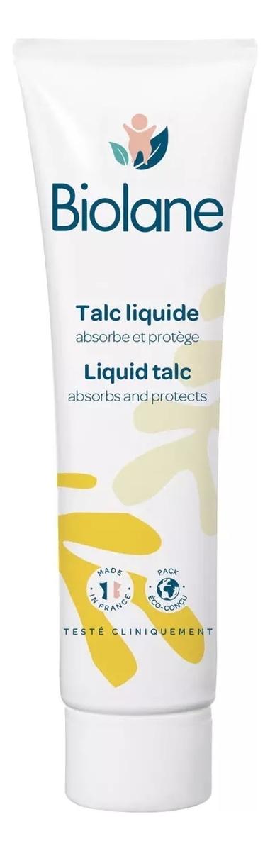 Тальк для новорожденных жидкий Talc Liquide 100мл