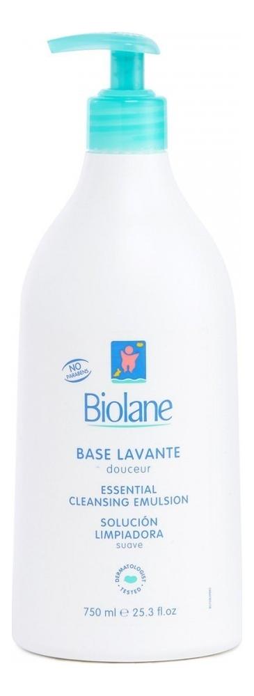 Купить Мягкое средство для купания детей с первых дней жизни Base Lavante: Средство 750мл, Biolane
