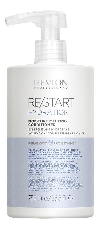 Купить Увлажняющий кондиционер для волос Restart Hydration Moisture Melting Conditioner: Кондиционер 750мл, Revlon Professional