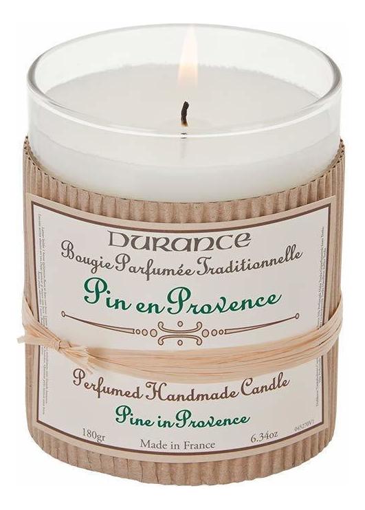 Купить Ароматическая свеча Perfumed Handmade Candle Pine In Provence 180г (сосны Прованса), Durance
