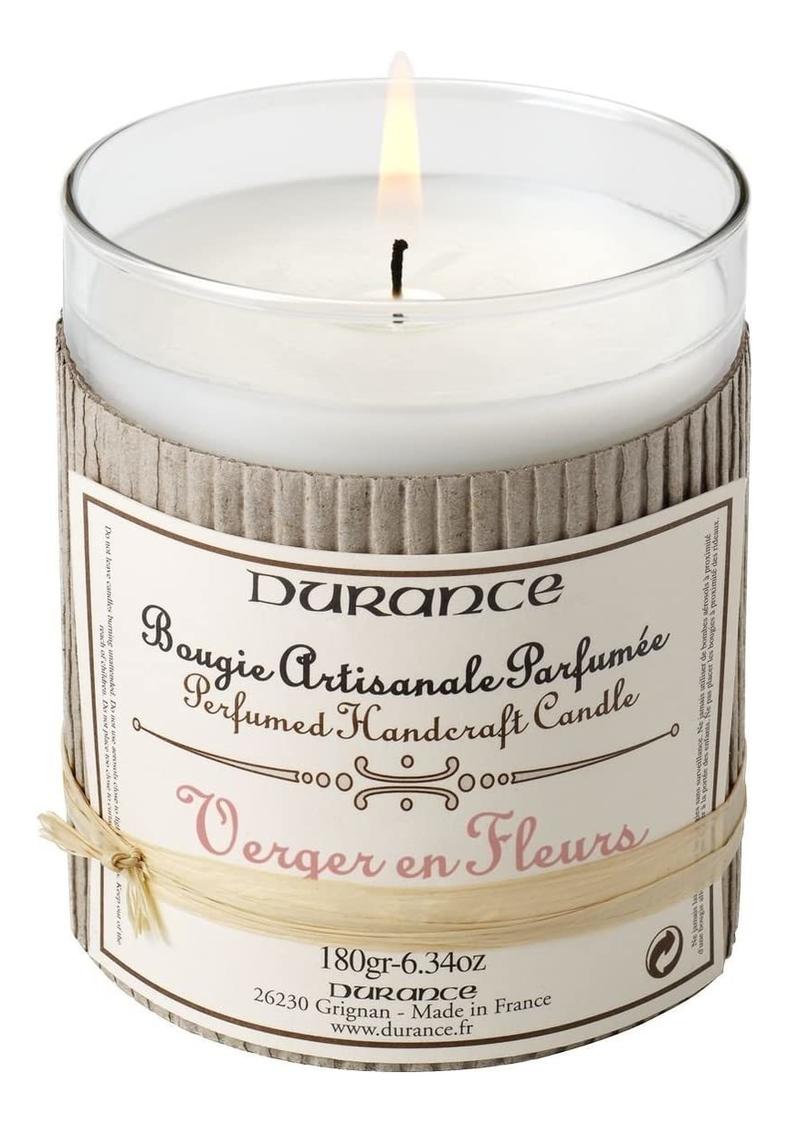 Купить Ароматическая свеча Perfumed Handmade Candle Verger en Fleurs 180г (яблоневый сад), Durance