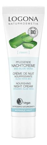 Купить Ночной крем для лица с Био-алоэ Moisturizing Night Cream 30мл, Logona