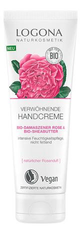Купить Крем для рук с Био-дамасской розой и маслом ши Verwohnende Hand Creme 75мл, Logona