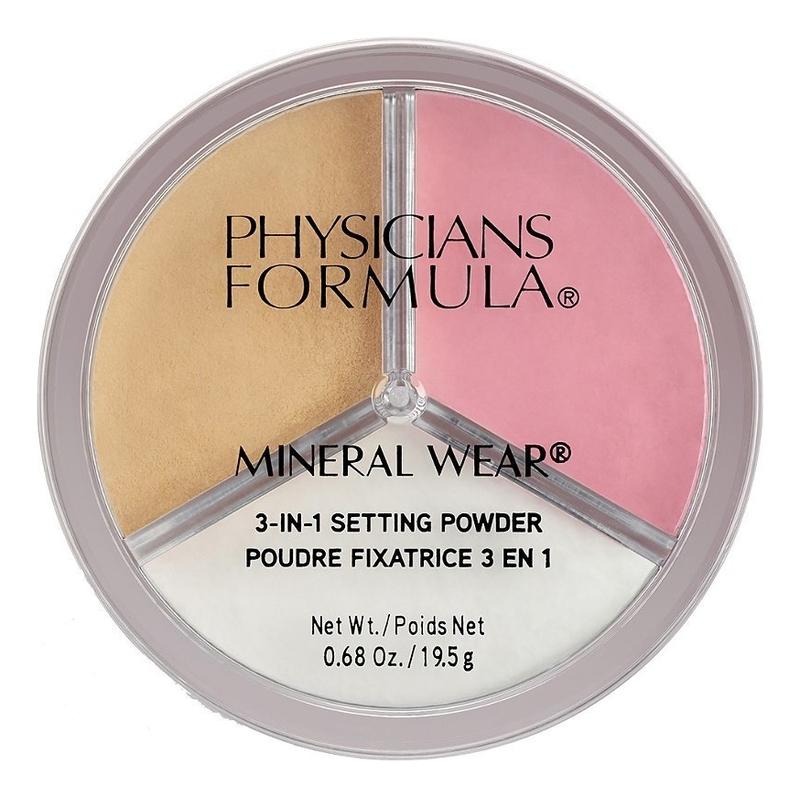 Купить Рассыпчатая пудра для лица Mineral Wear 3-In-1 Setting Powder 19, 5г, Physicians Formula