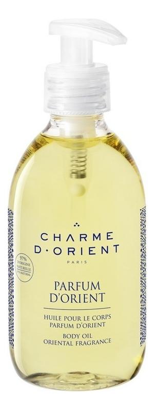 Массажное масло для тела с ароматом Восточные сладости Huile De Massage Parfum Douceurs Orientales: Масло 300мл восточные сладости
