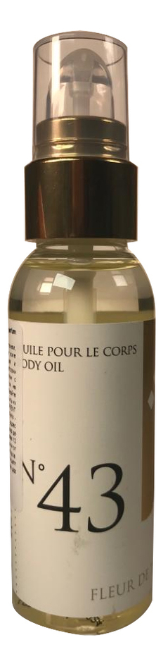 Массажное масло для тела с ароматом цветков Тиаре Huile Pour Le Corps Parfum Fleur De Tiare: Масло 50мл