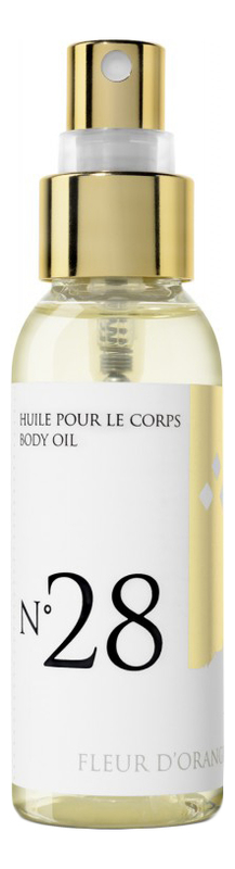 Массажное масло для тела с ароматом цветков апельсинового дерева Huile De Massage Parfum Fleur D'Orang: Масло 50мл