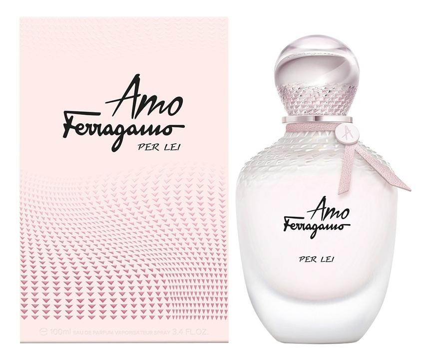 Купить Amo Ferragamo Per Lei: парфюмерная вода 100мл, Salvatore Ferragamo