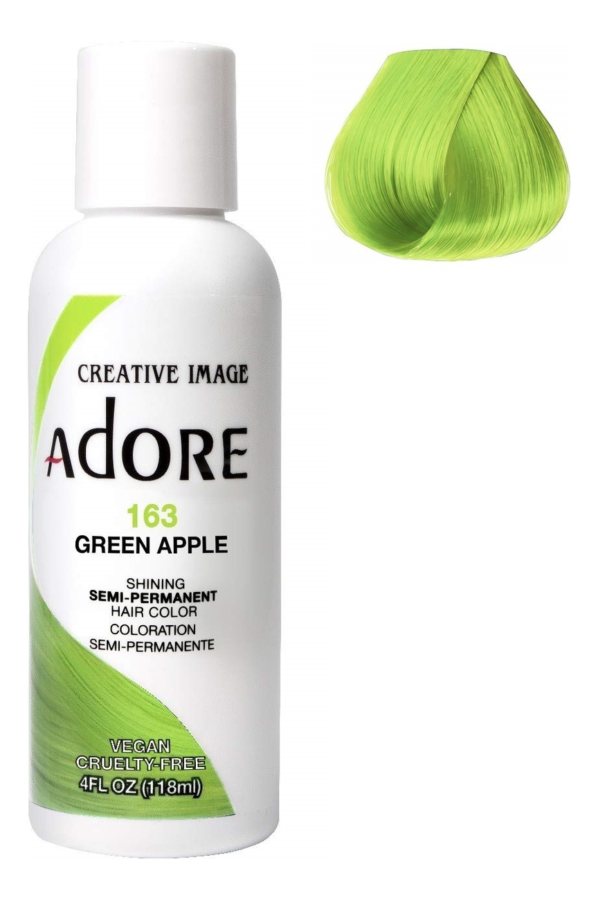 Купить Краска для волос Adore Hair Color 118мл: 163 Green Apple, Creative Image Systems