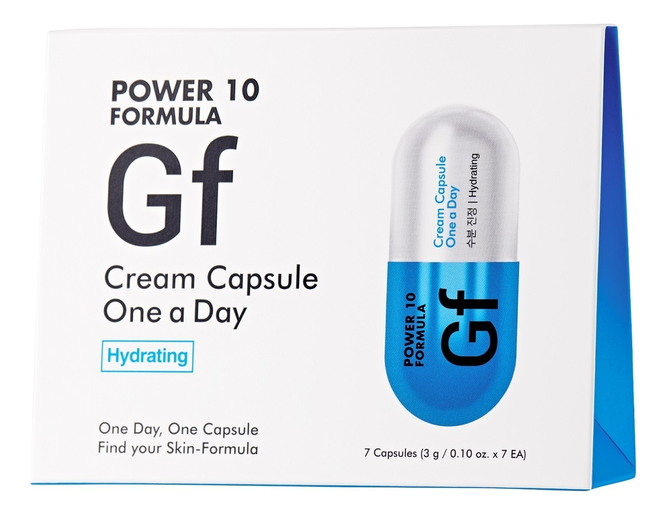 Дневной крем для лица Power 10 Formula GF Cream Capsule One A Day: Крем 3*7шт
