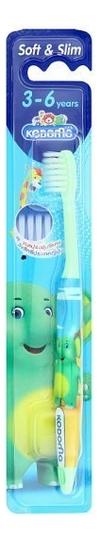 Купить Зубная щетка от 3-6 лет Kodomo Toothbrush Soft & Slim (цвет в ассортименте), Зубная щетка от 3-6 лет Kodomo Toothbrush Soft & Slim (цвет в ассортименте), LION