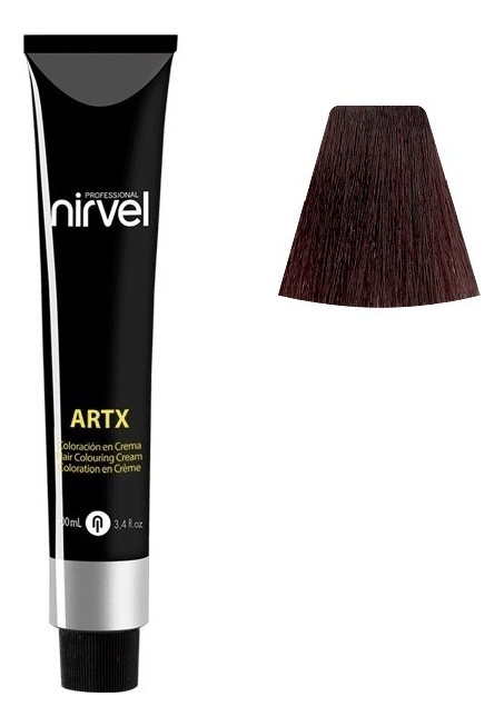 Купить Краска для волос на основе протеинов пшеницы Color ARTX 100мл: 3-5 Красное дерево темно-каштановый, Nirvel Professional
