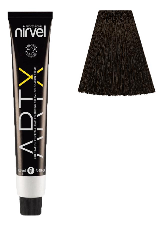 Купить Краска для волос на основе протеинов пшеницы Color ARTX 100мл: 4-3 Золотистый средне-каштановый, Nirvel Professional