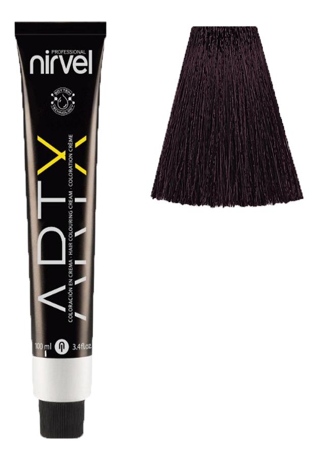 Купить Краска для волос на основе протеинов пшеницы Color ARTX 100мл: 4-65 Фиолетовый каштановый, Nirvel Professional