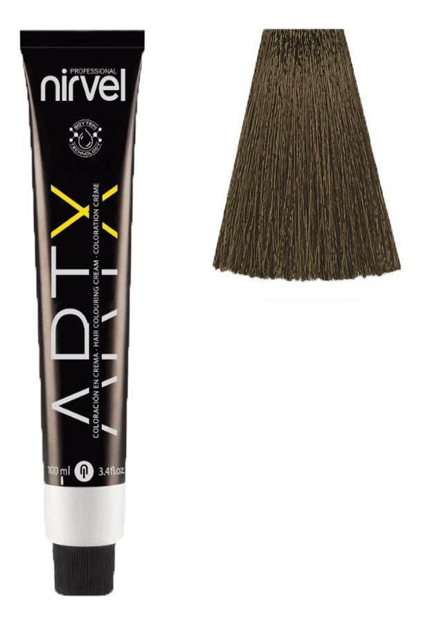 Краска для волос на основе протеинов пшеницы Color ARTX 100мл: 6-77 Табачный темный блондин недорого