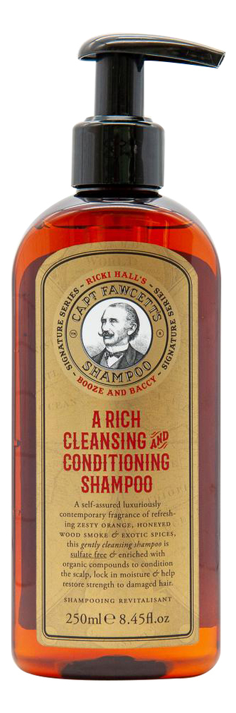Шампунь для волос Ricki Hall Booze & Baccy Conditioning Shampoo 250мл