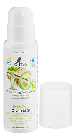 Купить Увлажняющий крем для тела Every Day Moisturizing Body Cream No16 150мл, Sativa