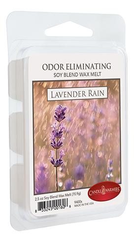 Наполнитель для воскоплавов Лавандовый дождь Odor Eliminating Melts Lavender Rain 70,9г наполнитель для воскоплавов after the rain wax melts 70 9г