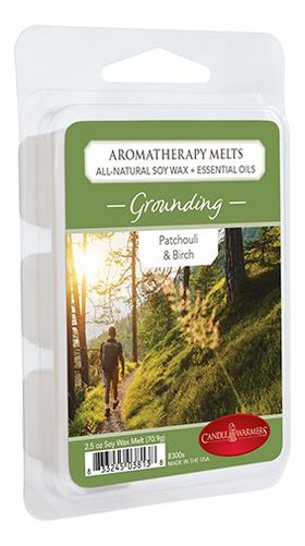 Купить Наполнитель для воскоплавов Заземление Aromatherapy Melts Grounding 70, 9г, Candle Warmers