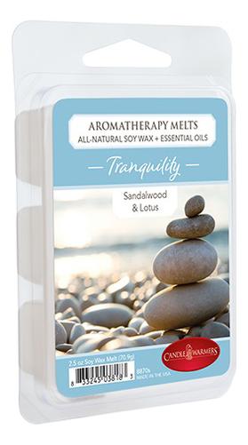Купить Наполнитель для воскоплавов Спокойствие Aromatherapy Melts Tranquility 70, 9г, Candle Warmers