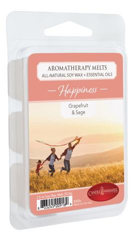 Купить Наполнитель для воскоплавов Счастье Aromatherapy Melts Happiness 70, 9г, Candle Warmers