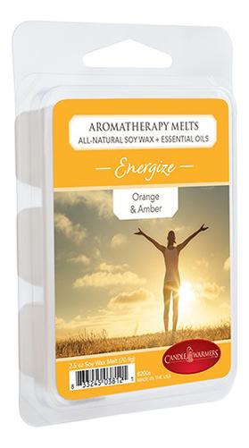 Купить Наполнитель для воскоплавов Энергия Aromatherapy Melts Energize 70, 9г, Candle Warmers