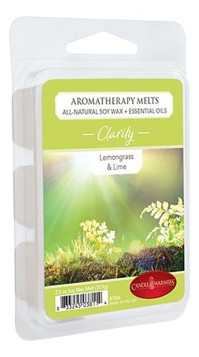 Наполнитель для воскоплавов Ясность Aromatherapy Melts Clarity 70, 9г, Candle Warmers  - Купить
