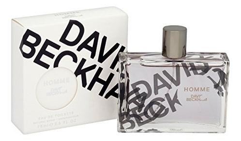David Beckham Homme: туалетная вода 75мл