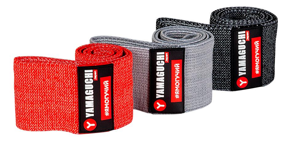 Тканевые фитнес-резинки Loop Band 3шт, YAMAGUCHI  - Купить