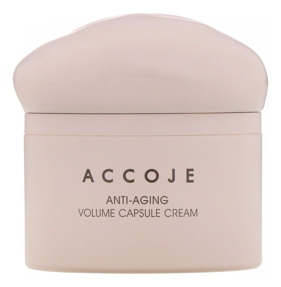 Купить Антивозрастной капсульный крем для лица Anti-Aging Volume Capsule Cream 50мл, ACCOJE