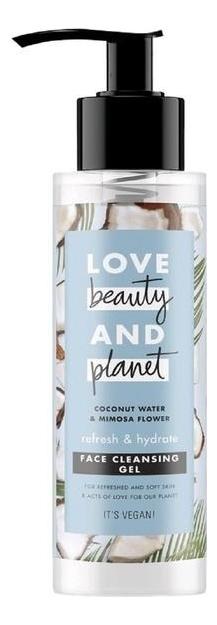 Купить Гель для умывания c кокосовой водой и цветами мимозы Refresh & Hydrate Face Cleansing Gel 115мл, Гель для умывания c кокосовой водой и цветами мимозы Refresh & Hydrate Face Cleansing Gel 115мл, Love Beauty & Planet