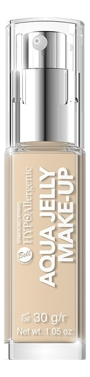 Купить Матирующий тональный флюид для лица Hypoallergenic Aqua Jelly 30г: No 03, Bell