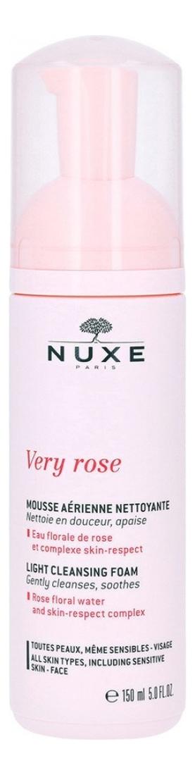 Очищающая пенка для лица Very Rose Mousse Aerienne Nettoyante 150мл авен пенка очищающая для лица контура глаз 150мл