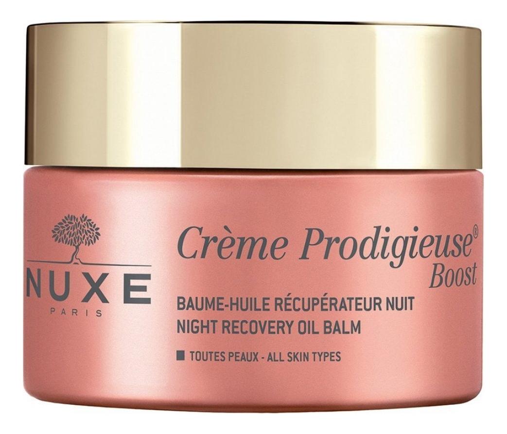 Купить Ночной восстанавливающий бальзам для лица Creme Продижьез Boost 50мл, NUXE