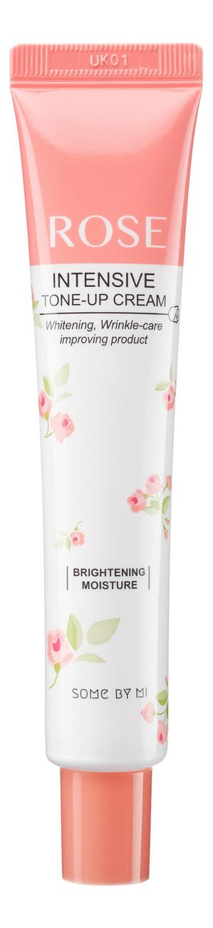 Купить Крем для лица с экстрактом розы Rose Intensive Tone-Up Cream 50мл, Some By Mi