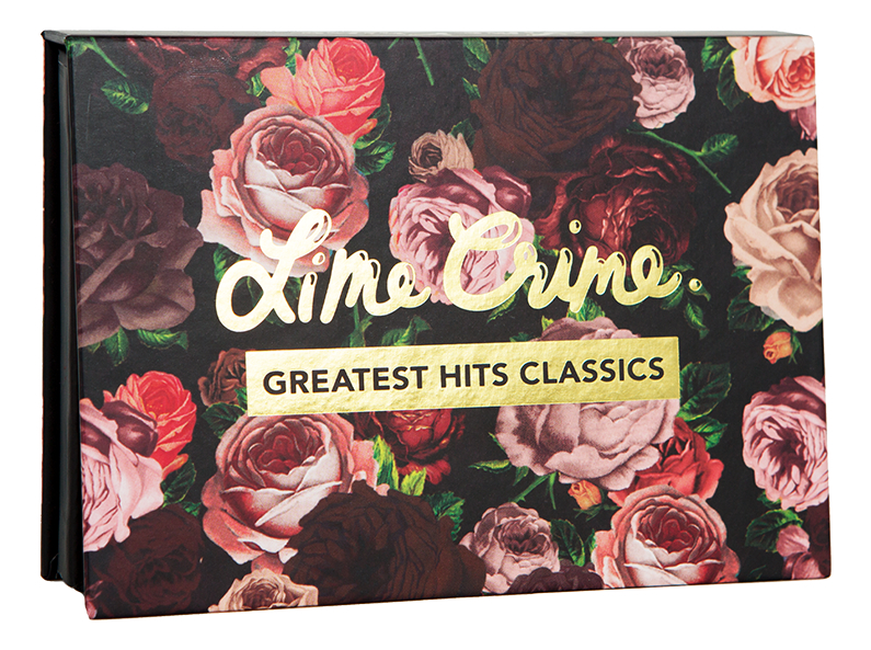 Палетка теней Greatest Hits Classics 14,4г lime crime палетка теней prelude exposed
