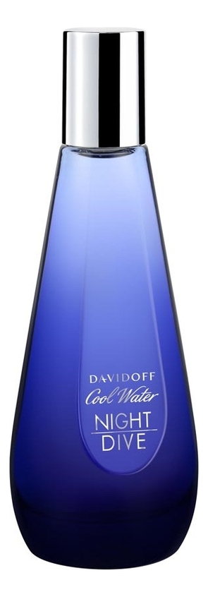 Davidoff Cool Water Night Dive Woman: туалетная вода 200мл (лимитированное издание)