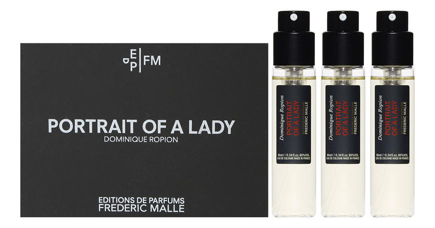Frederic Malle Portrait Of A Lady: одеколон 3*10мл coty lady stetson одеколон 11мл