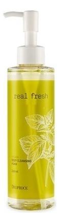 Очищающая пенка для умывания Real Fresh Vegan Deep Cleansing Foam 210мл