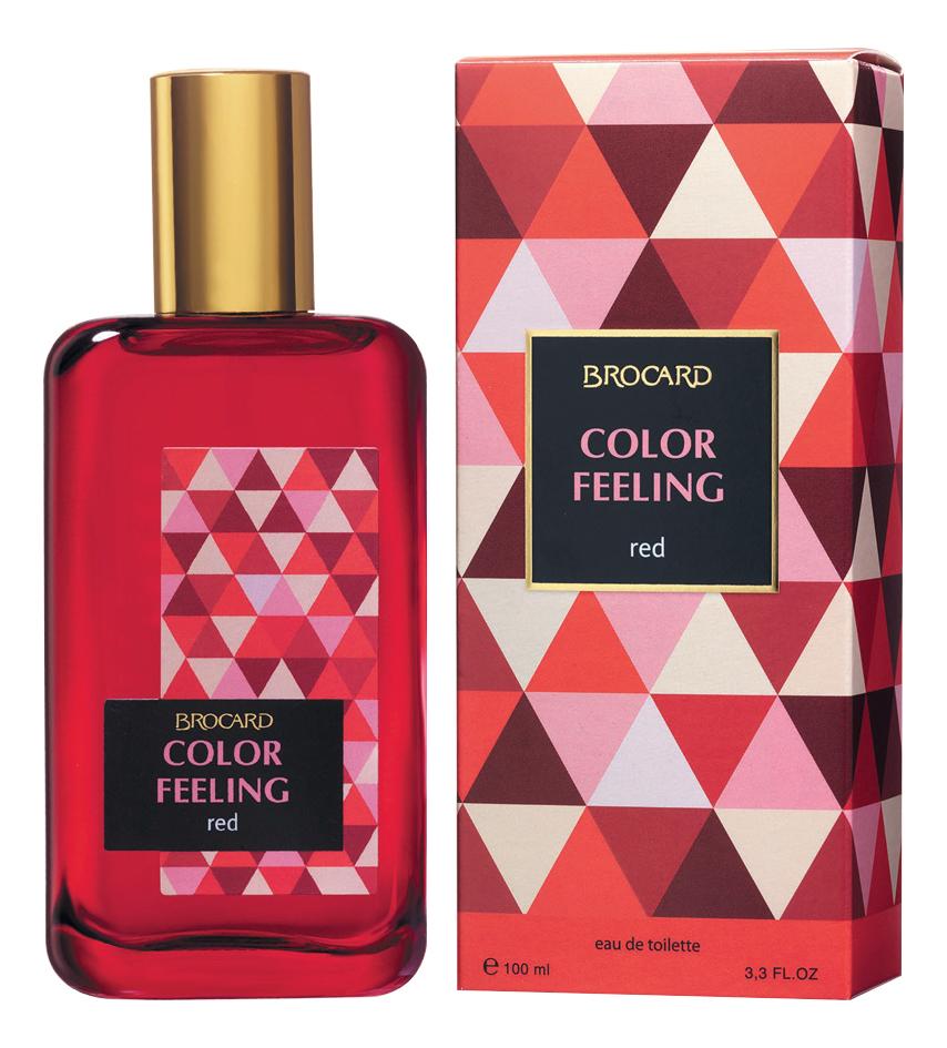Фото - Color Feeling Red: туалетная вода 100мл ole россия туалетная вода 100мл тестер