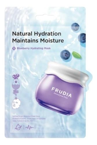 Купить Тканевая маска для лица с экстрактом черники Blueberry Hydrating Mask 20мл: Маска 1шт, Frudia