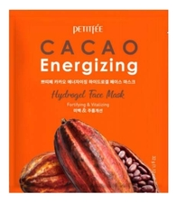 Petitfee Гидрогелевая маска для лица с экстрактом какао Cacao Energizing Hydrogel Face Mask