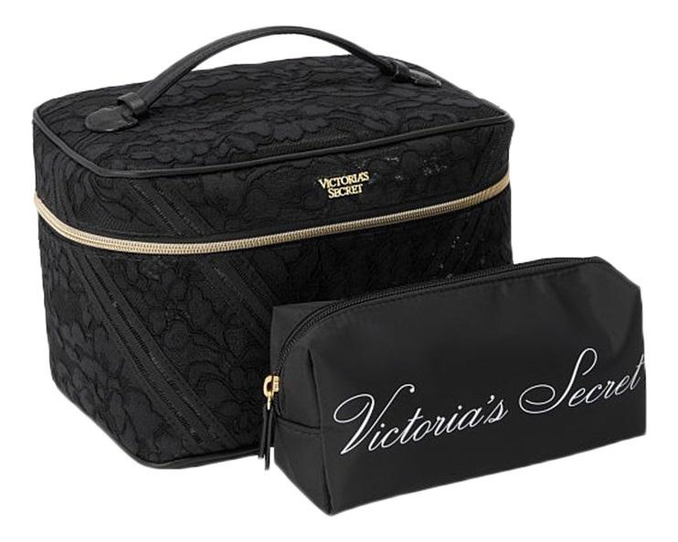 Купить Косметичка Black 24652035 2шт, Victorias Secret