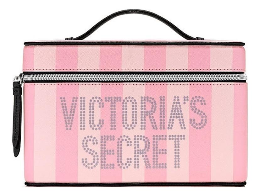 Купить Косметичка Pink Stripe 24498549, Victorias Secret